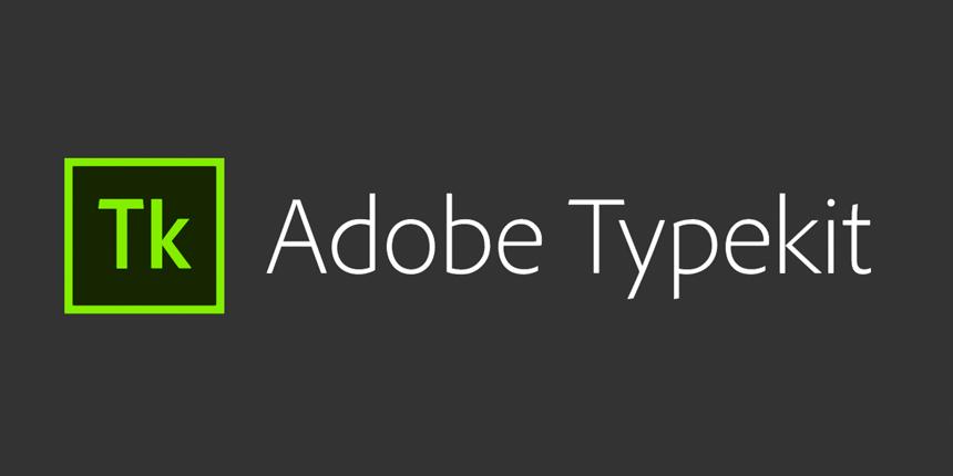 Adobe Typekit logo