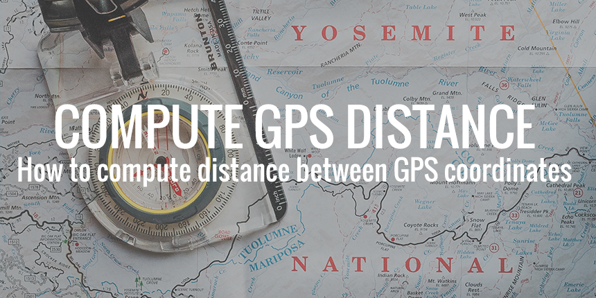 Compute distance between GPS coordinates