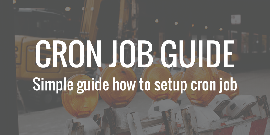 CRON job guide