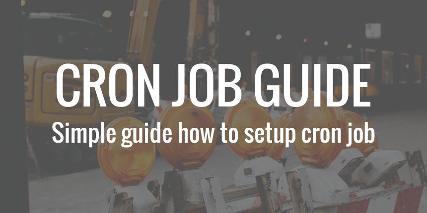 CRON job guide